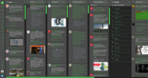 TweetDeck | DarkGreen | @JaviertINC